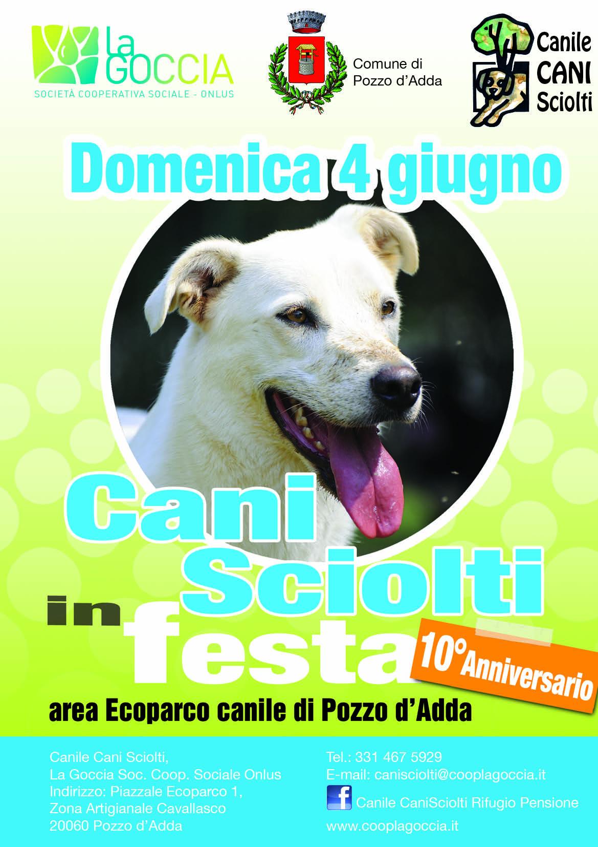 Cani Sciolti in festa - 10' anniversario